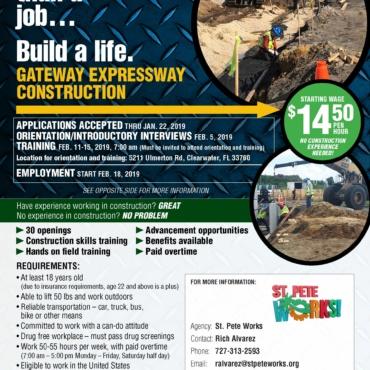 Gateway Expressway Workforce Pilot Program