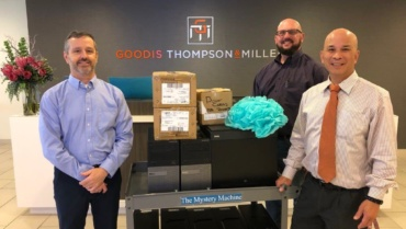 Local Law Firm Donates Computers for New Lab